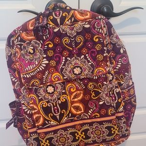 Vera Bradley backpack in Safari Sunset